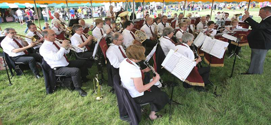 The band at Cookham Regatta 2011