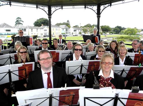Lymington bandstand 2011