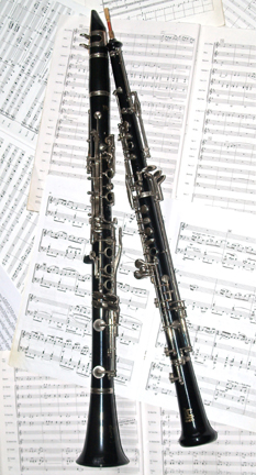 Clarinet and oboe